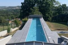 Construction de piscine sur mesure a Annecy