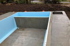 Construction piscines beton Aix les Bains