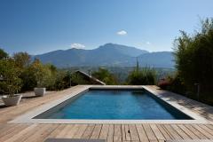 Gros oeuvre de piscines Aix les Bains