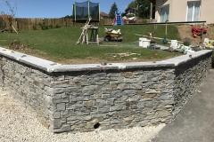 Travaux de maconnerie La Roche sur Foron Creation de muret a Annecy